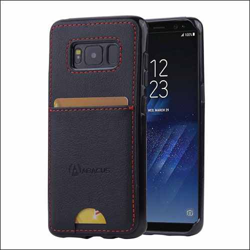 Abacus24-7 Slim Wallet Case for Samsung Galaxy S8