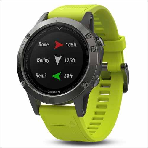 Garmin Fenix 5 best smartwatch for teenagers