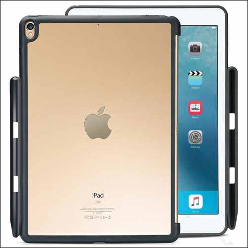 ProCase iPad Pro 10.5 Clear Case with Apple Pencil Holder