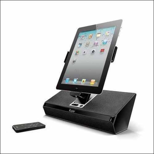 iLuv iPad Pro Docking Station and Speakers