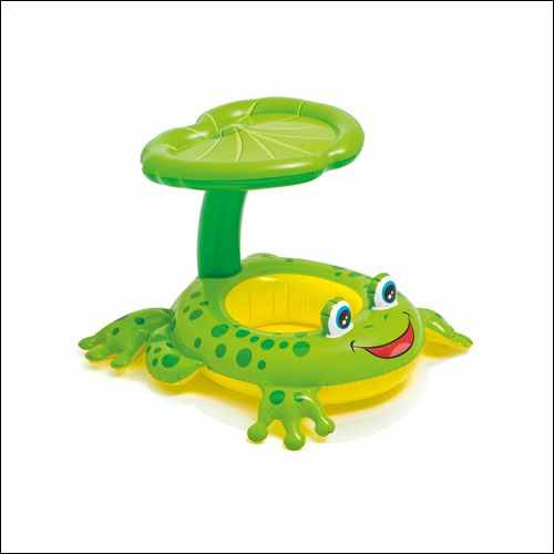 Intex Recreation Froggy Friend Shaded Baby Float