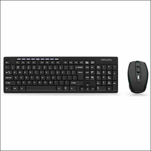 OfficeTec Wireless Keyboard And Mouse Combo