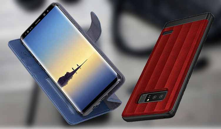 Best Samsung Galaxy Note 8 Leather Cases