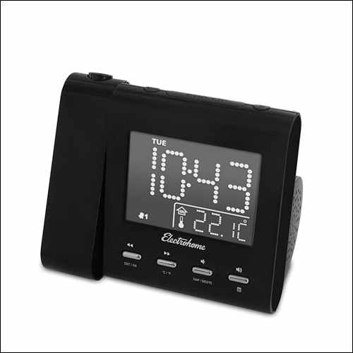 Electrohome EAAC601 Alarm Clock with FM Radio