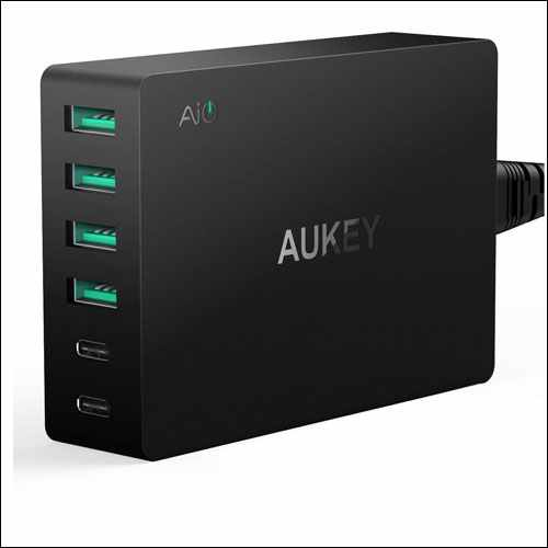 AUKEY USB Wall Charger for LG V30