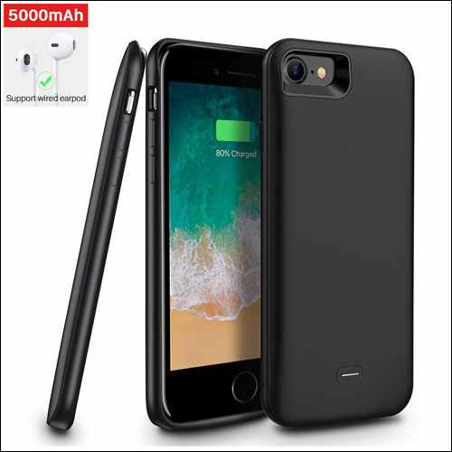 Ainope iPhone 8 Portable Protective Charging Case