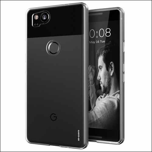 As-Guard Google Pixel 2 Clear Cases