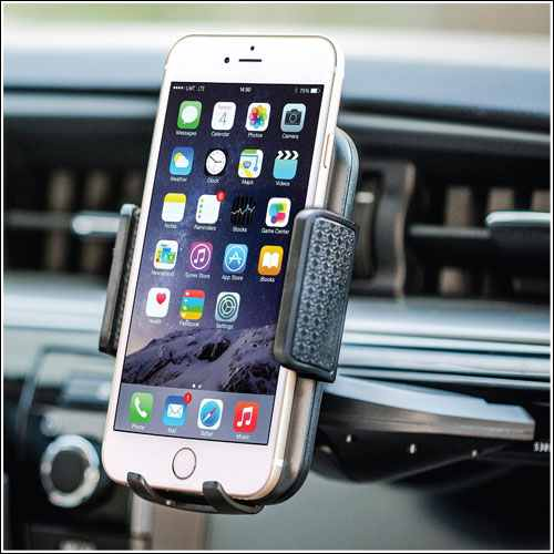 Bestrix Universal CD Slot Phone Holder for iPhone X , 8 and 8 Plus
