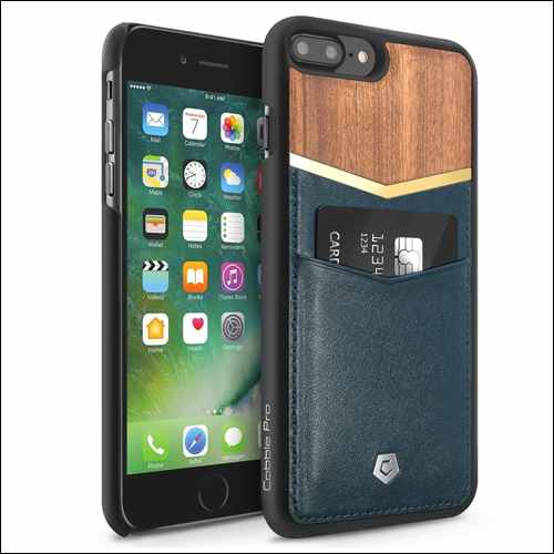 Cobble Pro iPhone 8 Plus Wooden Cases