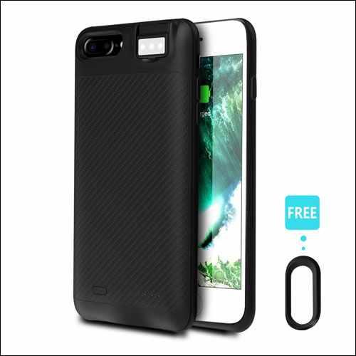 Coffea Portable Battery iPhone 8 Case