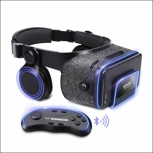 ETVR Virtual Reality Headset with Remote Controller