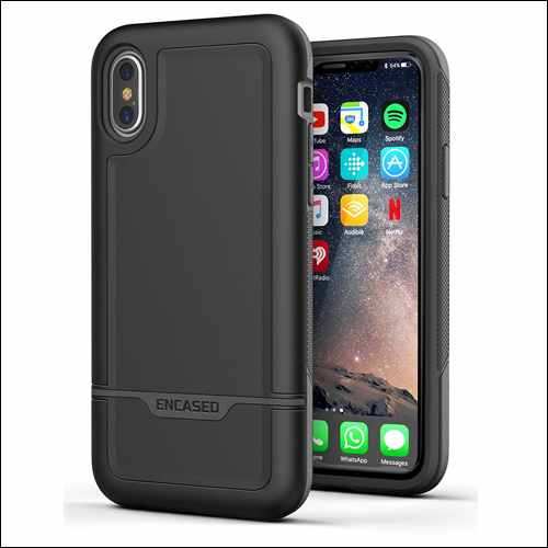 Encased Rebel Series iPhone X Military-Grade Cases