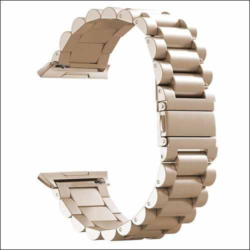 hooroor Solid Stainless Steel Metal Replacement Ionic Watch