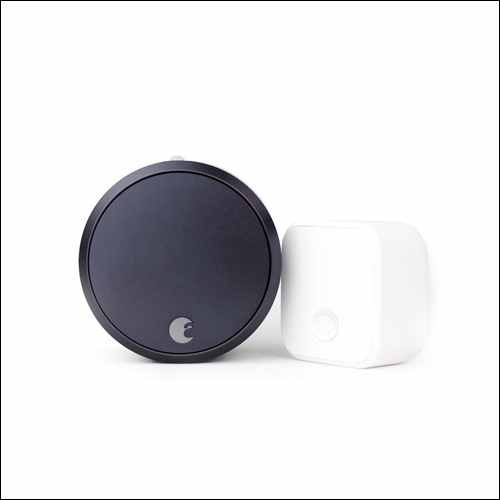 August Smart Lock Pro + Connect Google Home Smart Devices