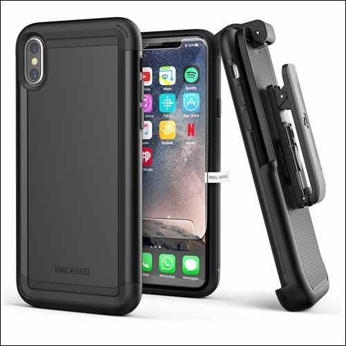 Encased Belt Clip Cases for iPhone X