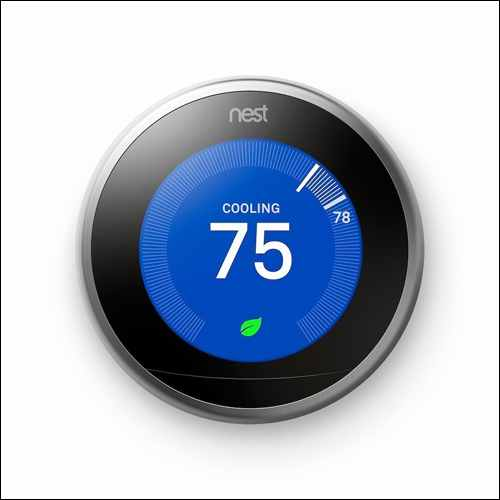 Nest Learning Thermostat 3rd Generation Google Home Smart Devices