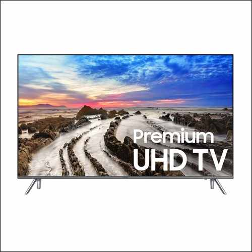 Samsung Electronics UN55MU8000 55-Inch 4K TV for Apple TV