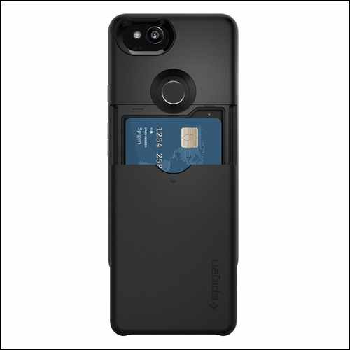 Spigen Slim Armor Card Slot Holder for Google Pixel 2