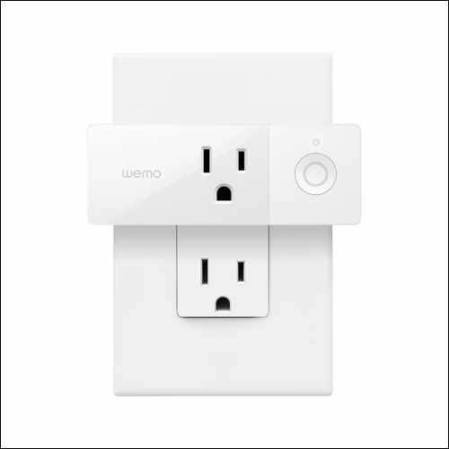 Wemo Mini Smart Plug Google Home Smart Devices