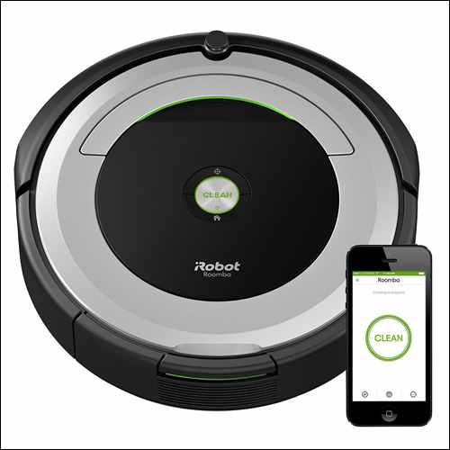 iRobot Roomba 690 Robot Vacuum with Wi-Fi Connectivity Google Home Smart Devices