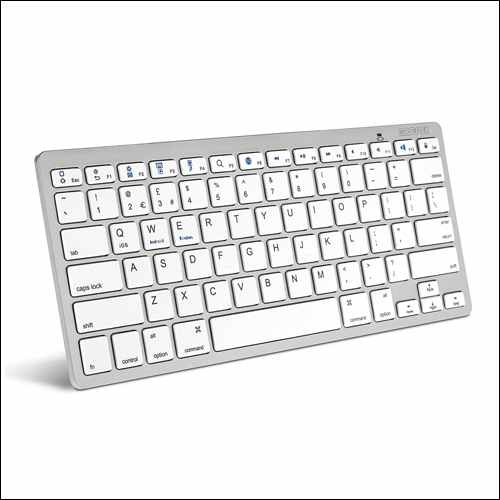 Caseflex Ultra Slim Wireless Bluetooth Keyboard For iMac Pro