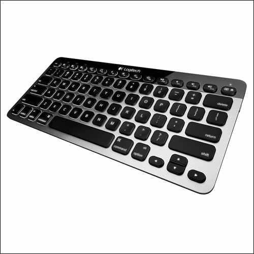 Logitech Easy‑Switch K811 Wireless Bluetooth Keyboard for Mac, iPad, iPhone, Apple TV