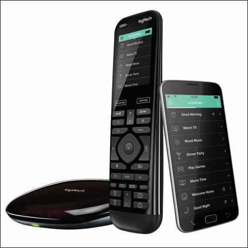 Logitech Harmony Elite Remote Control Google Home Smart Devices