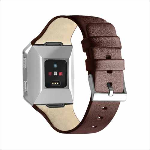 OenFoto Fitbit Ionic Leather Bands