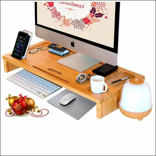 Royal Craft Wood Computer Monitor Stand for iMac Pro