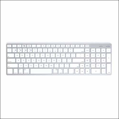 Satechi Bluetooth Wireless Smart Keyboard for iMac Pro