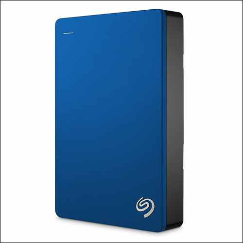 Seagate Backup Plus 4TB Portable External USB Hard Drive