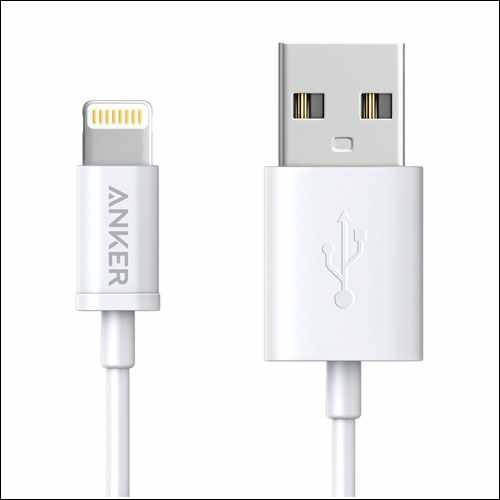 Anker Lightning Cable for iPhone and iPad