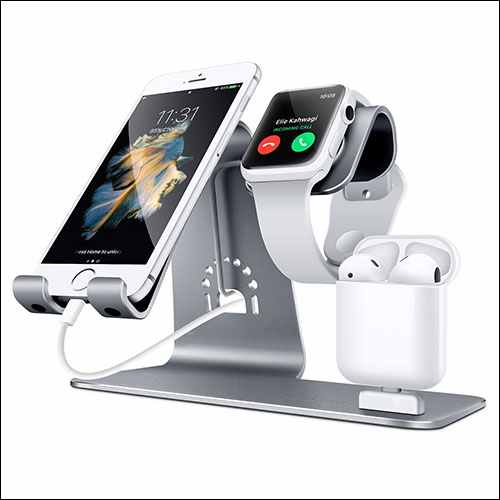 Bestand 3 in 1 Apple iWatch Stand