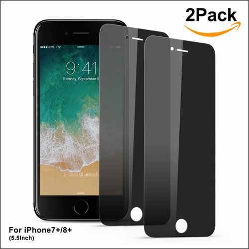 Bestfy Tempered Glass Screen Protector for iPhone 8 Plus