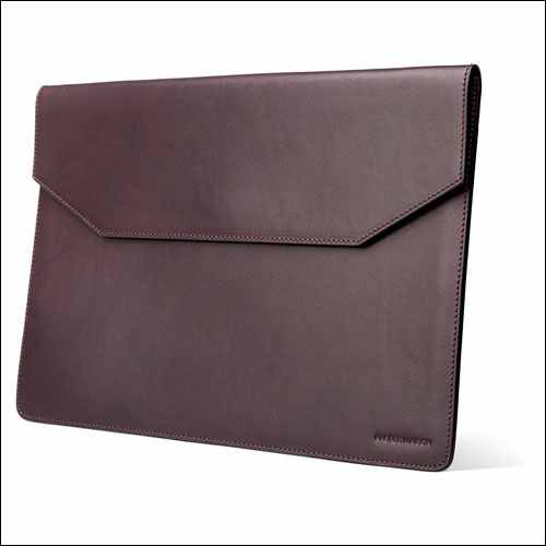 Kasper Leather MacBook Pro Sleeve