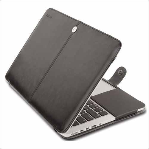 Mosiso Leather MacBook Pro Sleeve