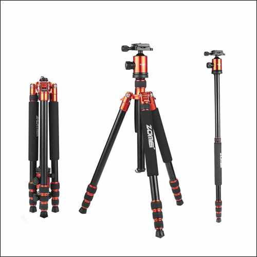 ZoMei Z818 Light Weight Heavy Duty Portable Magnesium Aluminium Travel Tripod