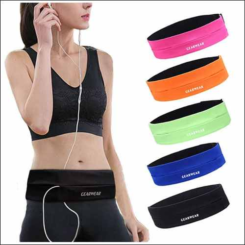 GEARWEAR Running Belt Waist Pack Bag for iPhone 8 X 7 Plus