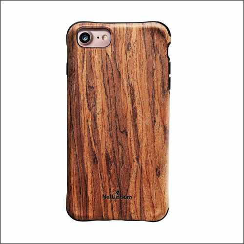 NeWisdom iPhone 8 Wood Case