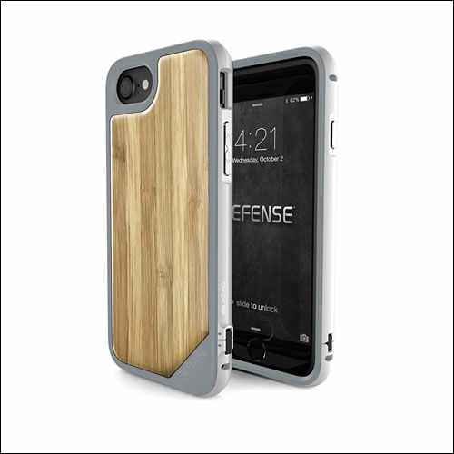 X-Doria Wood Protective Case for Apple iPhone 8