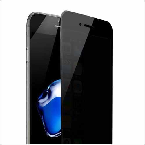 YAKAI iPhone 8 Privacy Anti Spy Anti-Glare Ballistic Tempered Glass