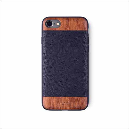 iATO Genuine LEATHER Case for iPhone 8