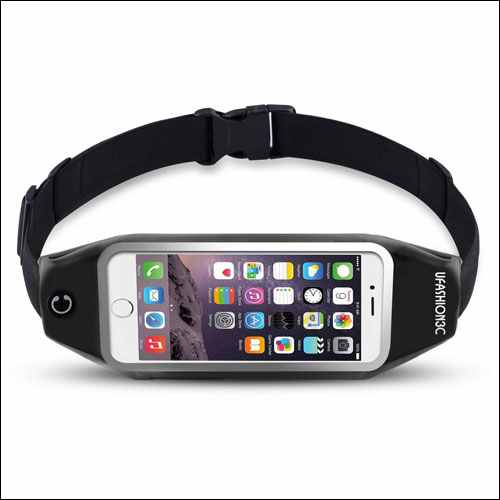 uFashion3C Running Belt Waist Pack for Phone and Keys