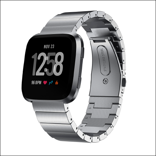 Aresh Stainless Steel Band for Fitbit Versa