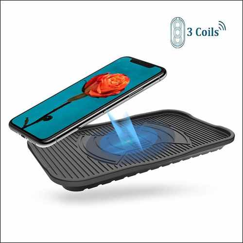 Diglot Waterproof QI Wireless Charging Pad for iPhone and Android