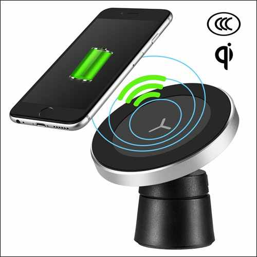 Engilen Magnetic Wireless Car Charger Mount for iPhone and Android