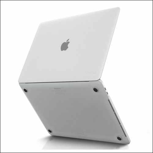 Kuzy Clear Hard Case with Touch Bar for MacBook Pro 15 inch