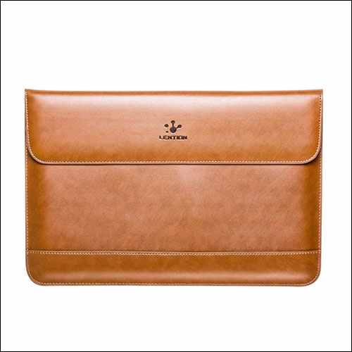 LENTION MacBook Leather Sleeve Case