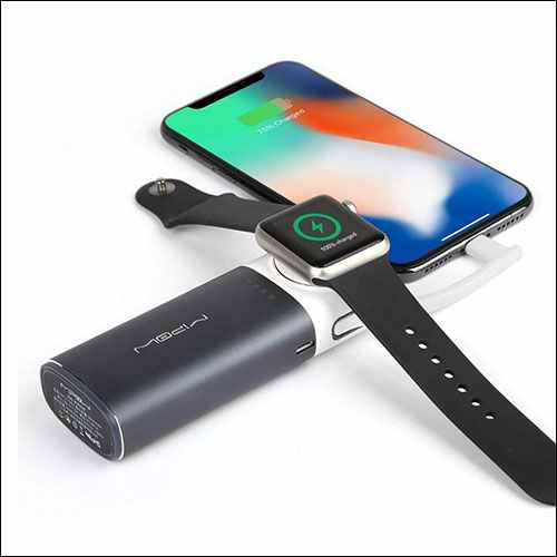MIPOW iPhone and Apple Watch Power Bank
