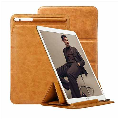 TOOVREN iPad Pro 10.5 Sleeve With Apple Pencil Holder